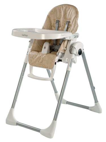 Peg Perego Zero 3 Highchair, Savana Beige