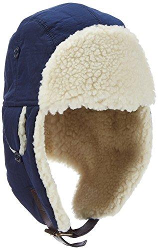 Tommy Hilfiger Solid Trapper Hat, Cappellopello Bambino, Blue-Blau (Black Iris 002), 12 Anni