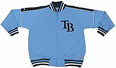 MLB Tampa Bay Rays Contrast Shoulder Track Jacket