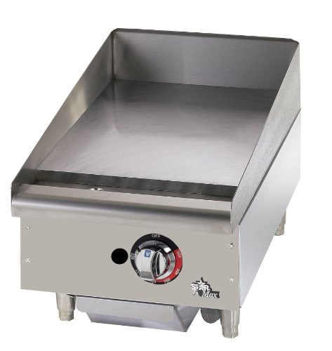 "Star - 615Tf - Star-Max 15"" Thermostatic Control Gas Griddle"