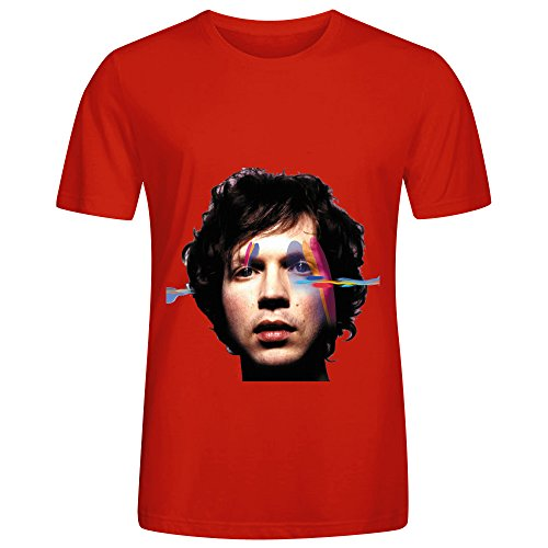 beck-sea-change-electronica-men-o-neck-cute-tee-red