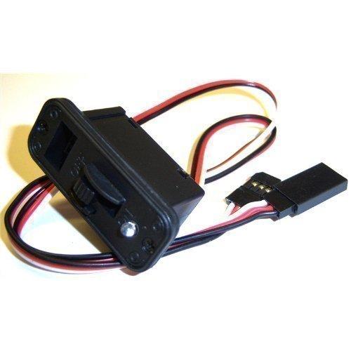 GoTeck 8143 RC Elektro Large On Off Switch mit LED 3 Pin Futaba