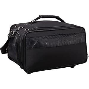 Bark n Bag Jetway Classic Pet Carrier (BLACK)