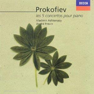 Prokofiev - Concertos pour piano 41C1KCGFMFL