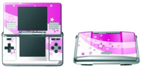 Pebble Entertainment Pink Stars Graphic Skin (Nintendo DS)