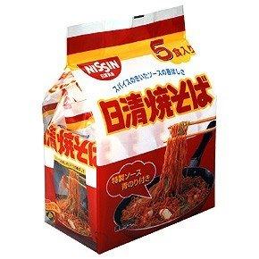 日清焼そば 5食パック(1セット6個)
