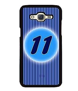 Fuson 2D Printed Numerology Designer back case cover for Samsung Galaxy J5 - D4229