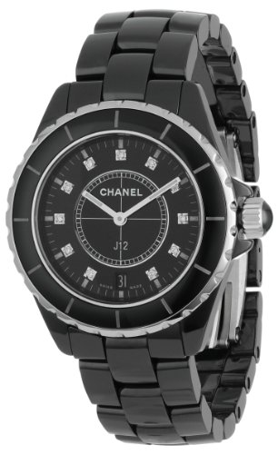 Chanel Men's H2124 J12 Diamond Dial Watch