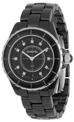 Chanel Men's H2124 J12 Diamond Dial Watch