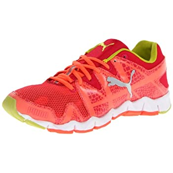 Women's Puma, Shintai Runner Cat Running Shoe  The perfect amount of flexibility, lightweight support, comfort, and cool looks.  Breathable mesh and manmade upper  Lace up closure for a snug fit  Padded tongue and collar  Cushioned insole for added c...