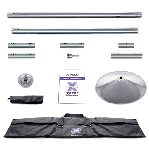X-Pole 45mm Chrome X-Pert Dance Pole (Spin/Static)