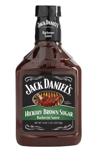 Jack Daniel'S Hickory Brown Sugar Barbecue Sauce, 19 Ounce Bottles (Pack Of 6)