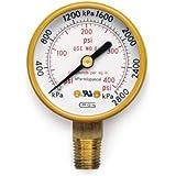 Hobart 770125 Oxy/Acet,Gauge High Pressure,Psi/Apa,Lp/Acetylene