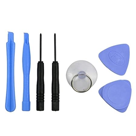 eForCity REPAIR KIT + OPENING TOOLS compatible with iPhone® 3G 3GS iPod® PSP