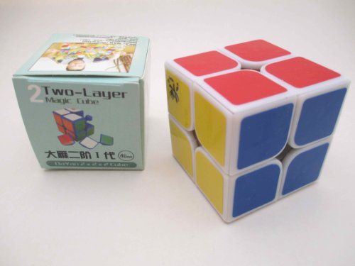 2013 New! Dayan Zhanchi 2x2 I White 46mm Speed Cube 2x2x2 Puzzle - 1