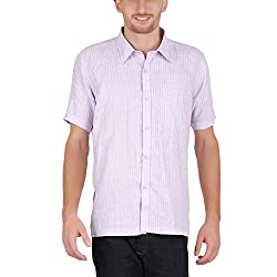 ALLTIMES Men's Purple Color Shirts