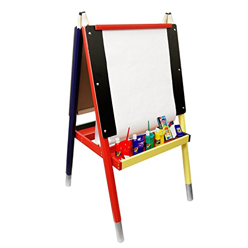 us-art-supply-childrens-art-activity-kid-easel-set-with-child-paint-and-accessory-kit-by-us-art-supp