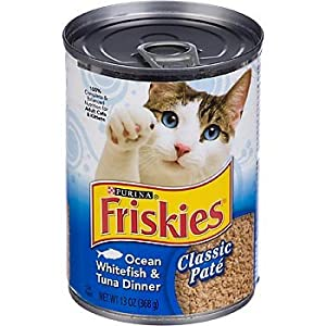 Friskies whitefish and tuna buffet canned cat for Is tuna fish good for cats