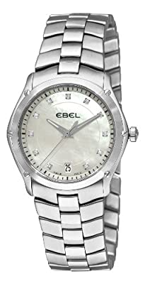 Ebel Women's 9954Q31/99450 Classic Sport Mother-Of-Pearl Diamond Dial Watch