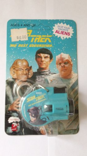 Star Trek The Next Generation Klingons, Romulans Key Chain Viewer