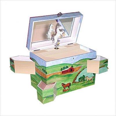 Enchantments Running Free Jewelry Box