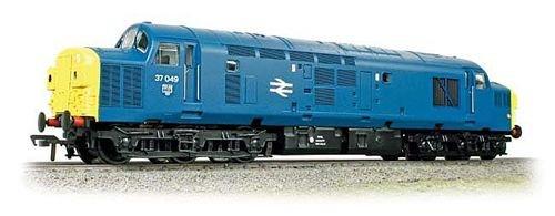 Class 37/0 37049 BR Blue withCut Nose & Split Head