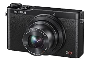 Fujifilm XQ1 Digital Camera - Black (12MP X-Trans CMOS II Sensor, 4x Optical Zoom) 3 inch LCD