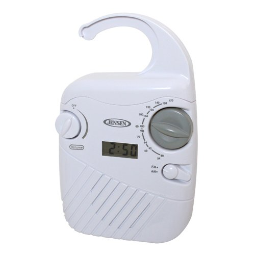 Brand New Spectra Merchandising Jensen Am/Fm Shower Radio With Clock