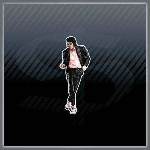 Michael Jackson Legend of R&B Pop Funk Dance Rock Music Car Sticker