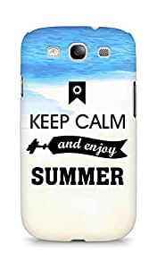 Amez Keey Calm and Enjoy Summer Back Cover For Samsung Galaxy S3 Neo