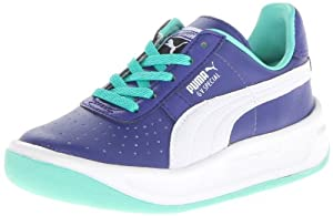 PUMA GV Special Jr Sneaker (Little Kid/Big Kid),Spectrum Blue/White/Electric Green,13.5 M US Little Kid