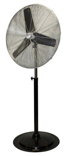 MaxxAir HVPF30 30-Inch OSC Heavy Duty Oscillating Pedestal 3-Speed Fan (30 Floor Fan compare prices)