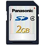 Panasonic 2GB Class 4  SD Memory Card RP-SDP02G
