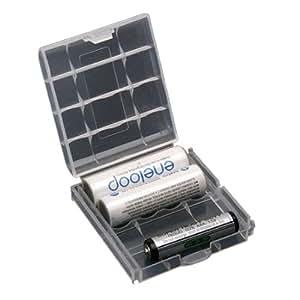 5X Plastique etui Boitiers boite De Rangement Accus 4 AA/AAA Pile batterie