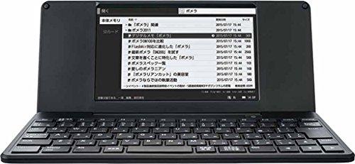 キングジム デジタルメモ ポメラ DM200 ブラック