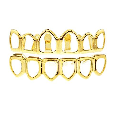 da-uomo-nuovo-viso-aperto-hip-hop-bling-grillz-superiore-e-inferiore-set-denti-griglie-base-placcata