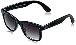 MTV Roadies Wayfarer Sunglass (Black) (RD-112-C1)