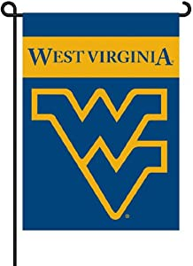 Buy BSI West Virginia Mountaineers Garden Flag w Pole by BSI