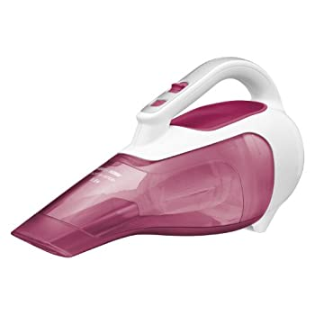 The Black & Decker CHV9610 Dustbuster 9.6-Volt Cordless Hand Vac has a large dirt bowl holds that 75% more dirt for less emptying.  The translucent, bagless dirt bowl makes it easy to see dirt and easy to empty.  Its compact and lightweight makes por...
