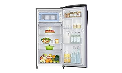 Samsung RR19H1784UT Direct-cool Single-door Refrigerator (192 Ltrs, 4 Star Rating, Pebble Blue)
