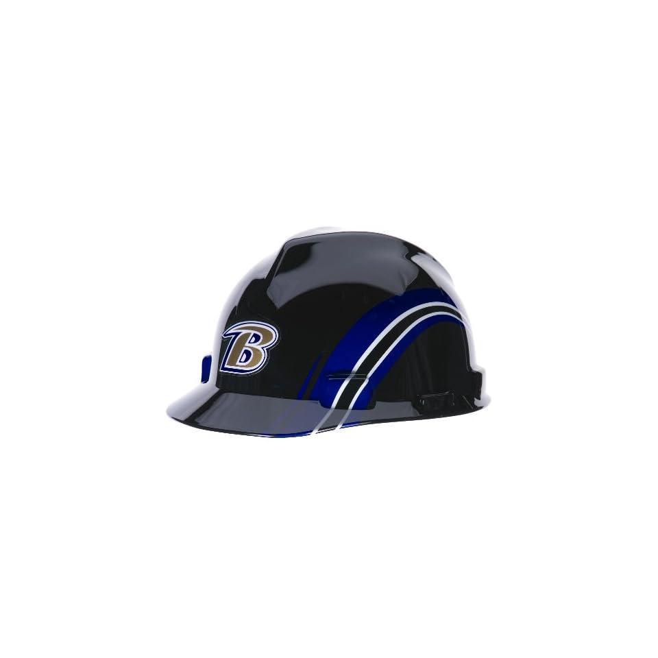 MSA Safety 10098026 NFL Baltimore Ravens V Gard Hard Hat on PopScreen 1d66c66b6