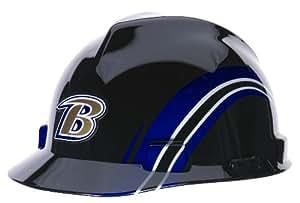MSA Safety 10098026 NFL Baltimore Ravens V-Gard Hard Hat