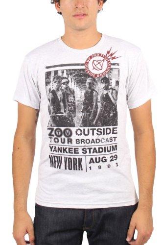 U2 - T-shirt - Uomo, Grigio, XX-Large