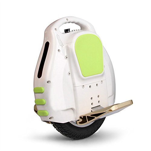 Generic White Bluetooth Color lights Self Balancing Vehicle Balance Monocycle Stand-Up Electric Unicycle