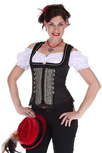 Krüger Damen Mieder 38530 412 schwarz Größe: 38 Farbe: SCHWARZ