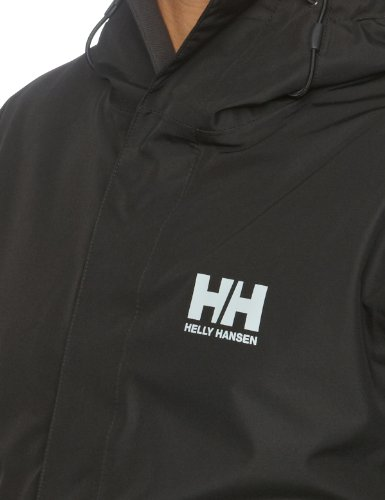 Helly Hansen Herren Jacke Seven J Jacket, Black, 4XL, 62047-992 -