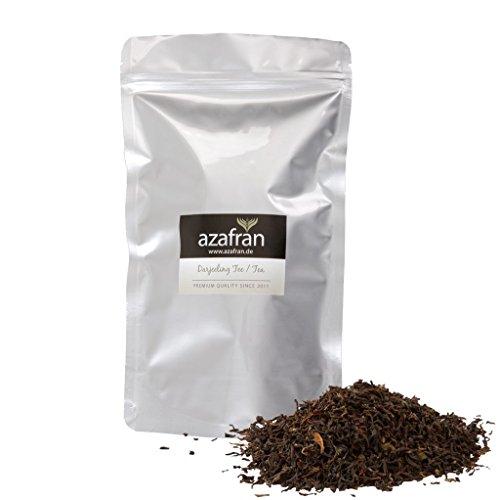 Schwarzer Tee - Indischer BIO Darjeeling Schwarztee (250g) von Azafran®