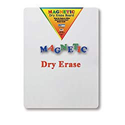 Dry Erase Magnetic Lap Board Whiteboard, 2 x 2