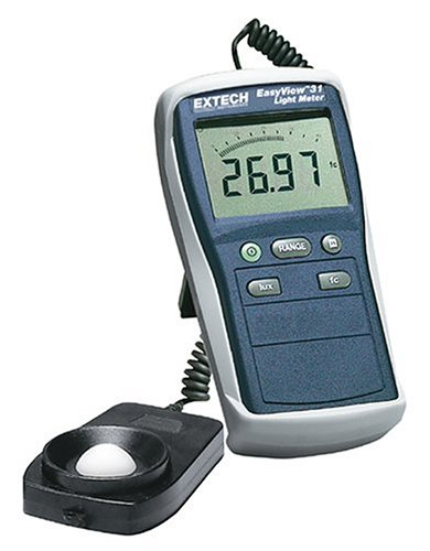 EasyView Light Meter - Extech EA31 - Extech Instruments - EX-EA31 - ISBN: B00023RXFU - ISBN-13: 0793950411315