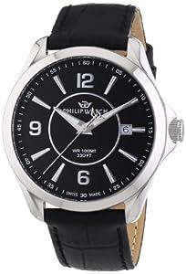 Philip Watch Men's Quartz Watch Blaze R8251165001 with Leather Strap